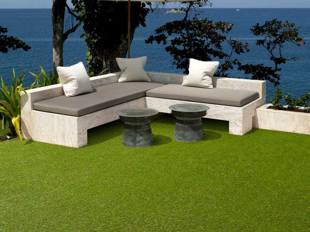 Artificial Grass Summer Seaside