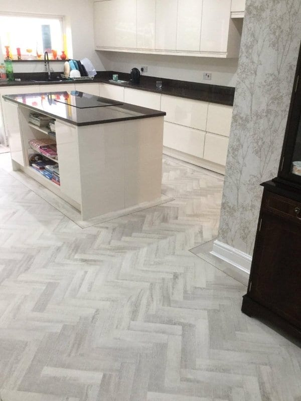 CFS Eternity Parquet - Washed Ivory Oak _Kitchen
