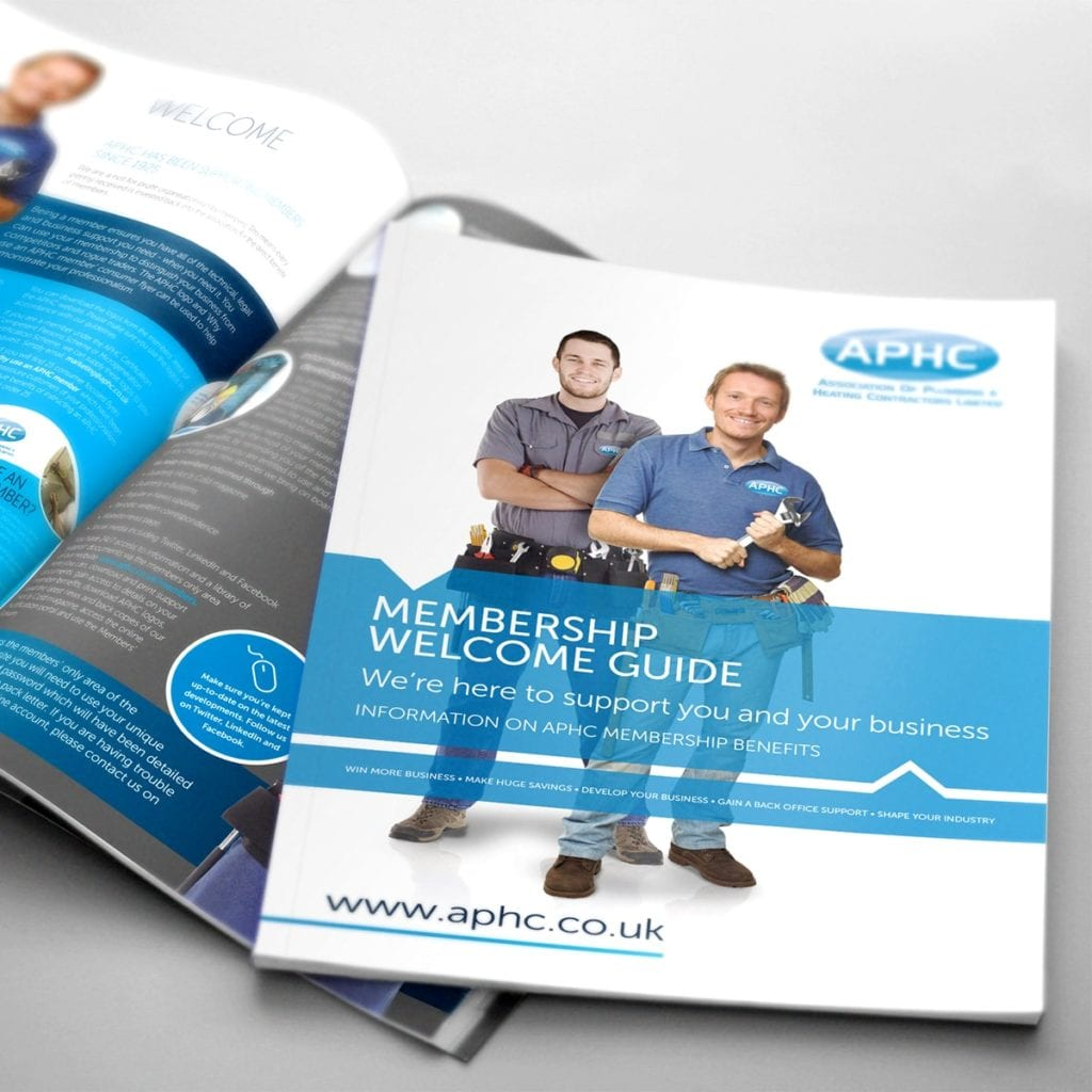 APHC Membership Welcome Pack | Portfolio | Blackberry Design