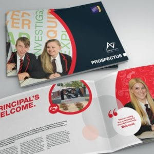 Arrow Vale Academy School Prospectus | Portfolio | Blackberry Design
