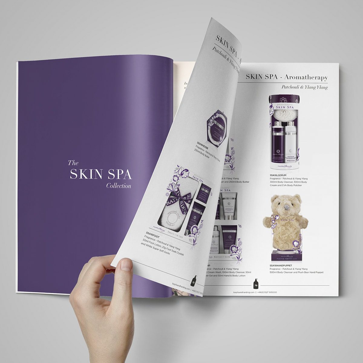 Baylis & Harding Brochure | Portfolio | Blackberry Design