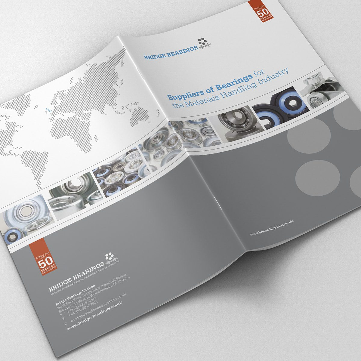 Bridge Bearings Brochure | Portfolio | Blackberry Design