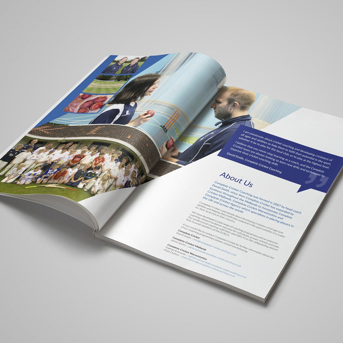 Complete Cricket Brochure | Portfolio | Blackberry Design