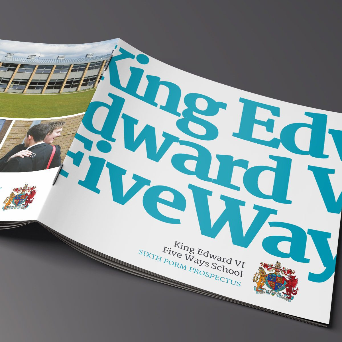 King Edwards Five Ways 6th Form Brochure | Portfolio | Blackberry Design