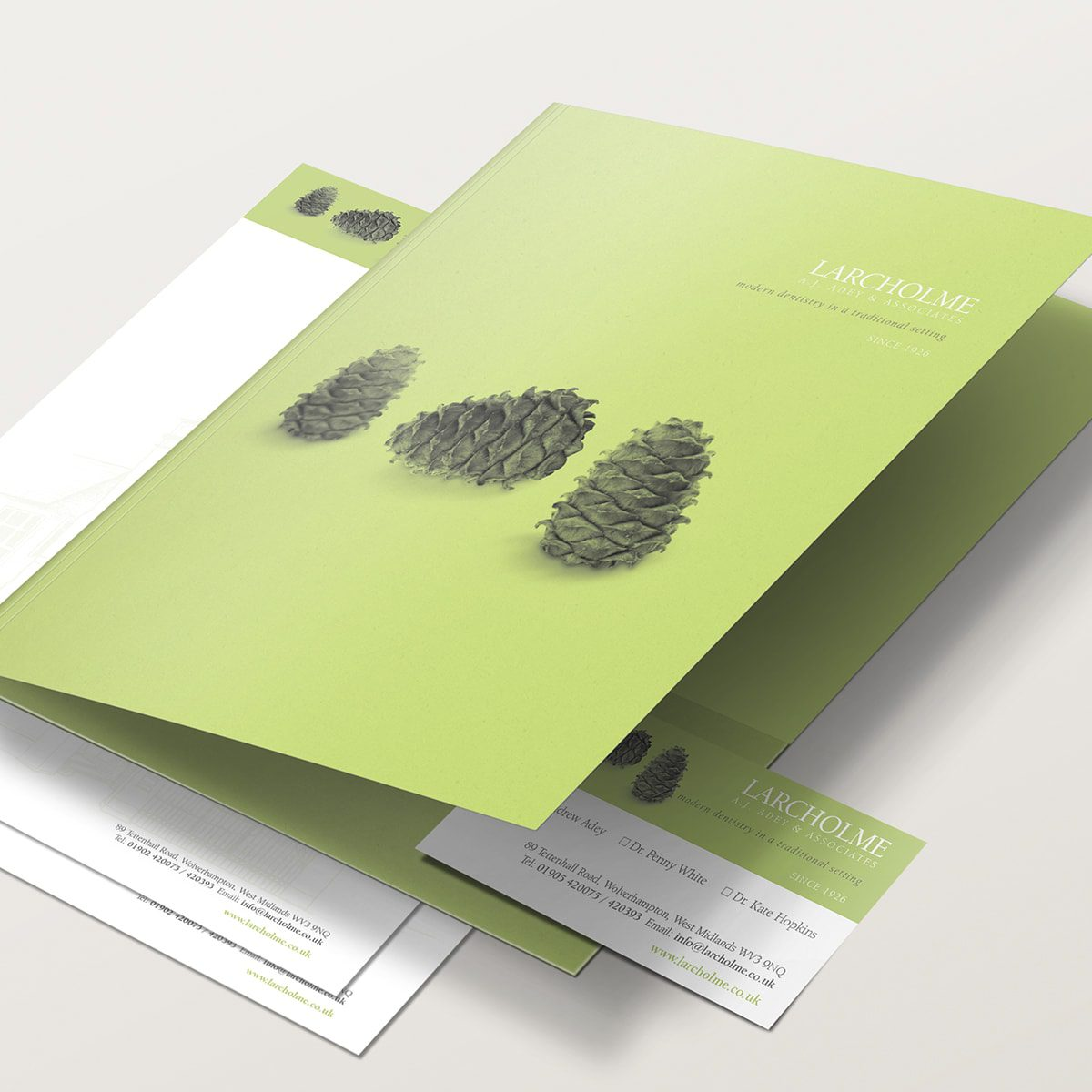 Larcholme Welcome Pack | Portfolio | Blackberry Design