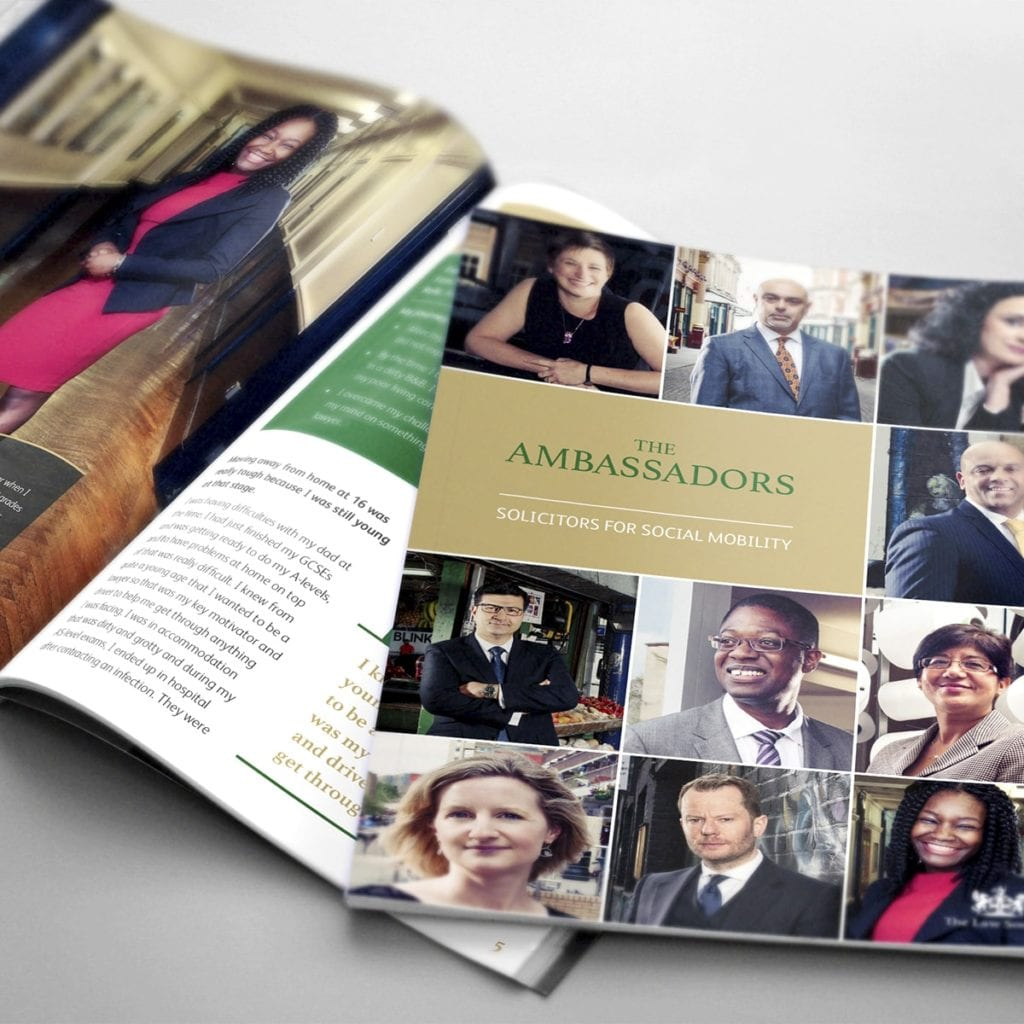 Law Society Ambassadors 2017 | Portfolio | Blackberry Design