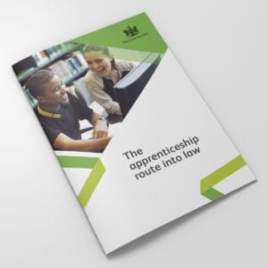 Law Society Apprenticeships Brochure | Portfolio | Blackberry Design
