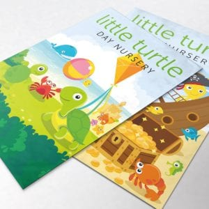 Little Turtle Posters | Portfolio | Blackberry Design