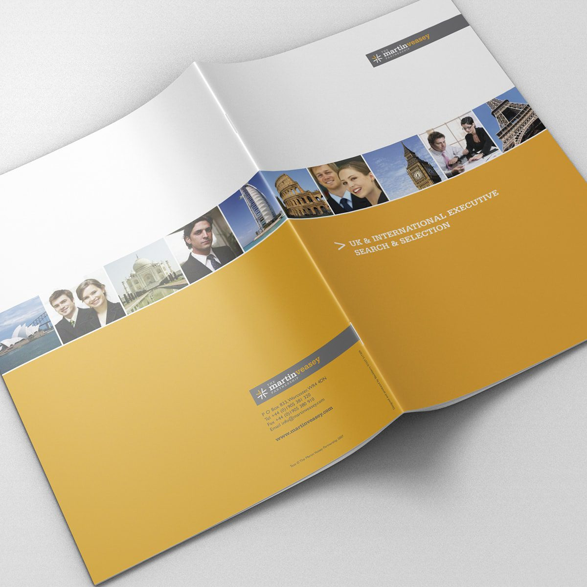 Martin Veasey Recruitment Brochure | Portfolio | Blackberry Design