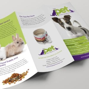 Pet Partnership Leaflet | Portfolio | Blackberry Design