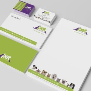 Pet Partnership Stationery | Portfolio | Blackberry Design