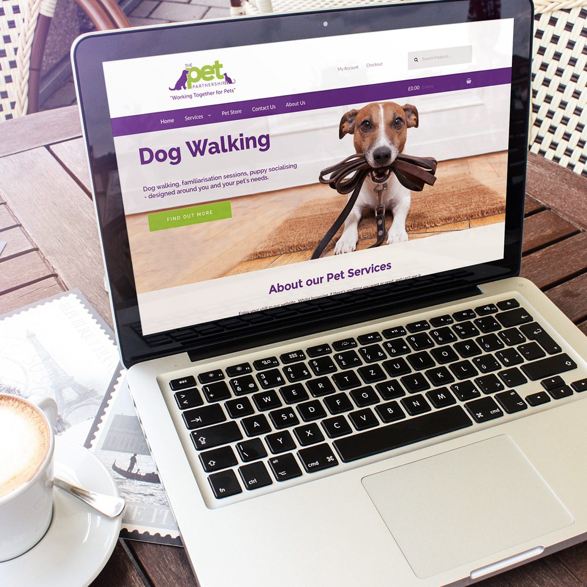 Pet Partnership Website | Portfolio | Blackberry Design