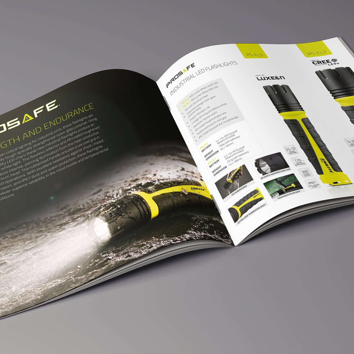 Unilite Brochure | Portfolio | Blackberry Design