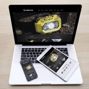 Unilite Website 2017 | Portfolio | Blackberry Design