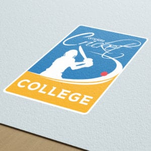 Complete Cricket College Logo | Portfolio | Blackberry Design