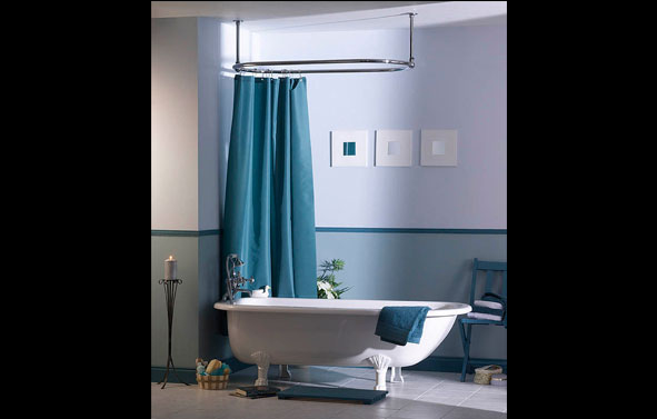 Lifestyle Photography | Bathroom Set with Towel Rail