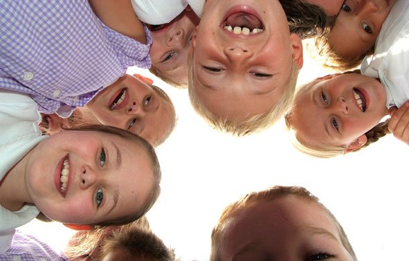School Photography | Children Over the Camera